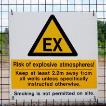 Ex Warning Sign